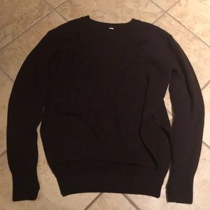 LULULEMON maroon soft sweater